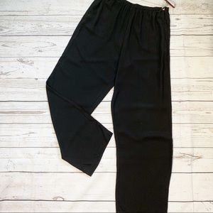 Eileen Fisher silk crepe pants